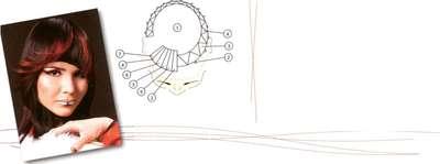 Техника окрашивания - кольцо