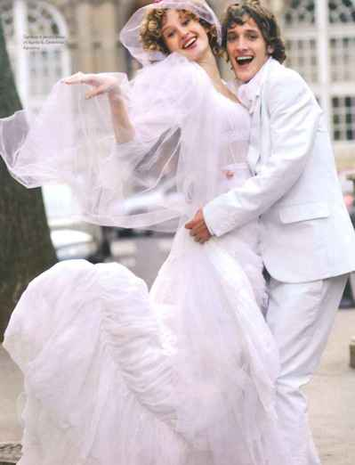 Проект: Charlotte Bonnet - свадебная прическа