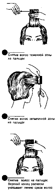 Снятие волос на пальцах
