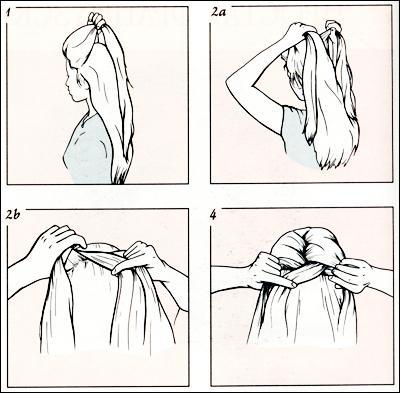 Простая французская коса