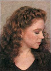 Французская коса, уложенная в виде обруча